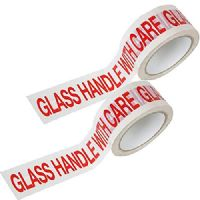 Printed Glass Handle With Care Low Noise Packaging Tape 48mm x 66m